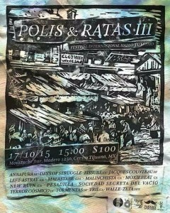 POLIS Y RATAS - TIJUANA, MX
