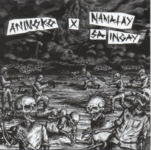 """ANINOKO / NAMATAY SA INGAY – Split – 7"""" EP / ESN03"""
